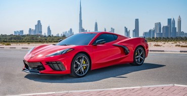 2020 Corvette Stingray Arrives in the Middle East
