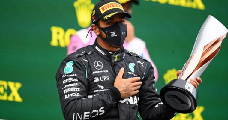 Hamilton Crowned Champion at 2020 Turkish Grand Prix
