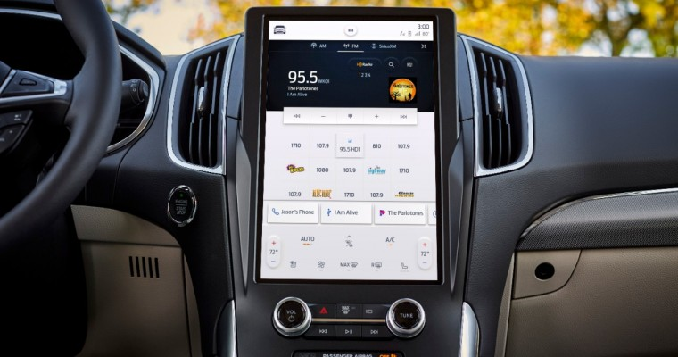 Ford Updates 2021 Edge with SYNC 4A, 12-Inch Display