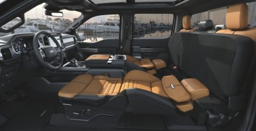 Don't Sleep on New F-150's Max Recline Seats (or Do, Actually)