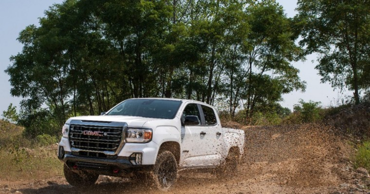 2021 GMC Canyon AT4 Adds New Off-Road Performance Edition