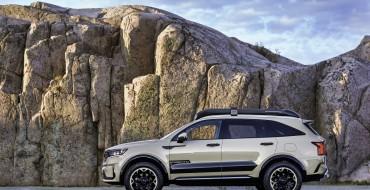 Kia Debuts Rugged, Trail-Ready X-Line Sorento Concepts