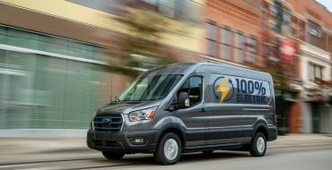 2022 Ford E-Transit Gets 126-Mile Range
