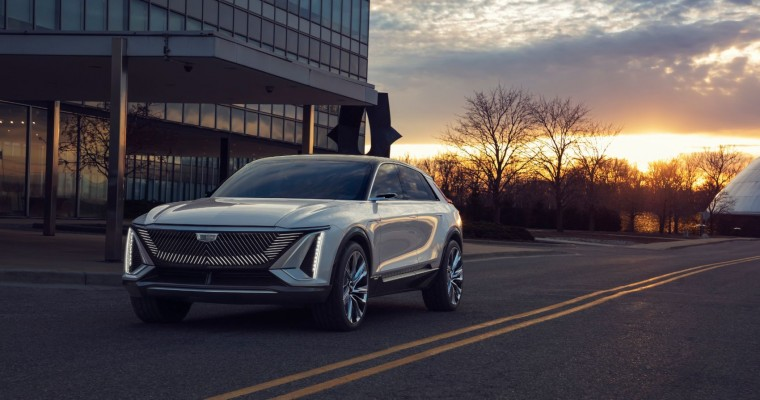 Cadillac Lineup Could Have Six EVs by 2025