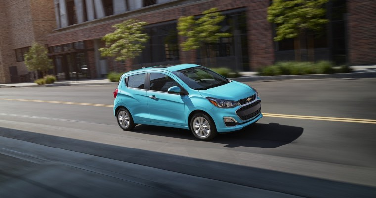2021 Chevrolet Spark Has the Lowest Price in the US