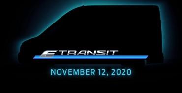 Ford Revealing E-Transit Electric Van on Nov. 12