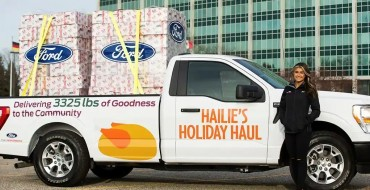Hailie Deegan Helps Detroit Families for Thanksgiving