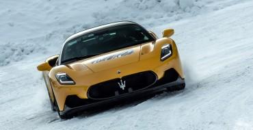 Maserati MC20 Unexpectedly Heads to the Ski Slopes