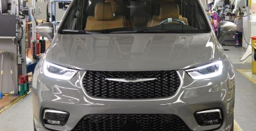 2021 Chrysler Pacifica In Production at Windsor Assembly Plant