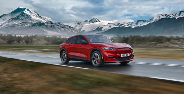 Mustang Mach-E Deliveries Start in 2021 in Europe