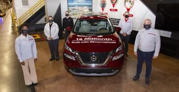 Smyrna Nissan Plant Produces 14 Millionth Vehicle