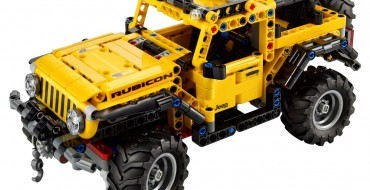 Introducing the New LEGO Technic Jeep Wrangler