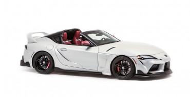 Toyota Reveals Awesome Supra Sport Top Concept