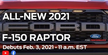 2021 Ford F-150 Raptor Reveal Set for Feb. 3
