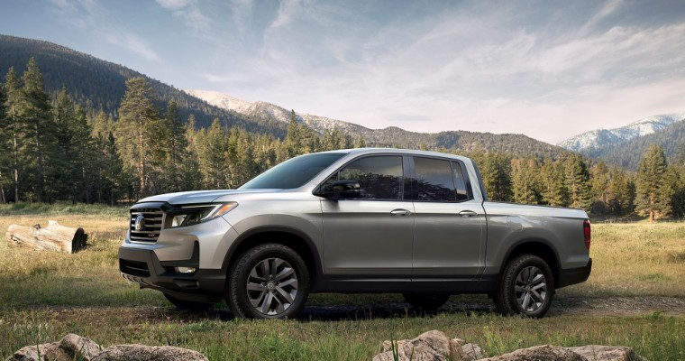 2021 Honda Ridgeline Pricing Starts at $36,490