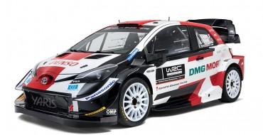Toyota Shows Newest Yaris WRC