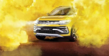 India's VW Taigun Teased in Striking Image
