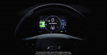 Chevy Teases Steering Wheel of the 2022 Bolt EUV