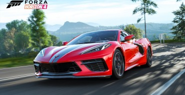 Mid-Engine Corvette Stingray Debuts on Forza Horizon 4