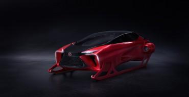 Lexus Canada Redesigned Santa's Sleigh