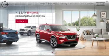 Car Shop Remotely with Nissan@Home