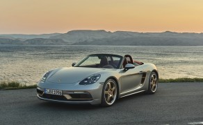 Porsche Celebrates 25 Years of the Boxster