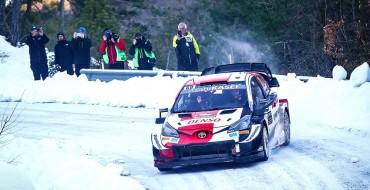 Toyota Wins Season-Opening Rallye Monte-Carlo
