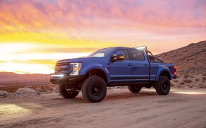 The 2021 Ford Shelby F-250 Super Baja is Super Bananas
