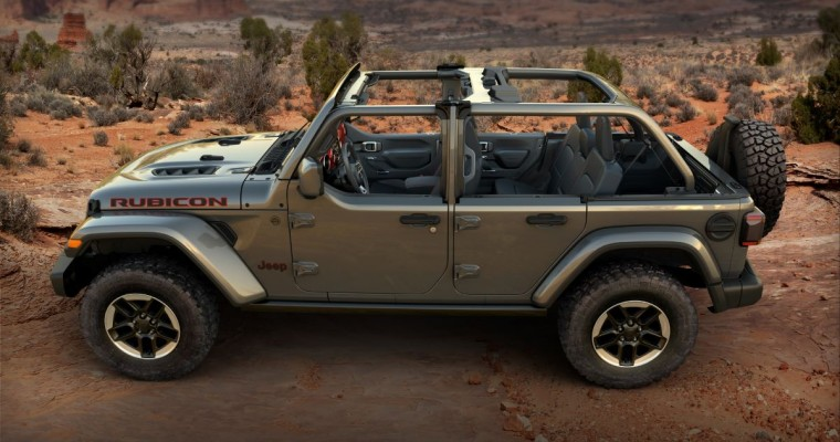 Jeep Wrangler Boosts Open-air Experience With Half Doors
