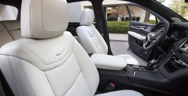 What is Cadillac's Inteluxe Seating Upholstery?