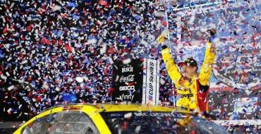 McDowell Brings Mustang First Daytona 500 Win