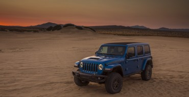 Jeep Wrangler Earns Best Retained Value Award