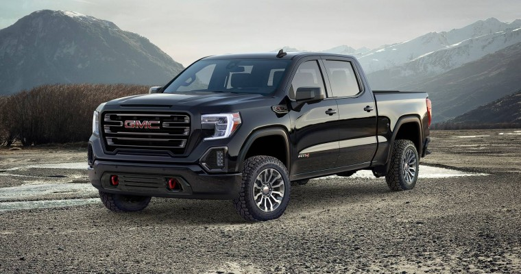 Differences between the GMC Denali and AT4 Trim Levels