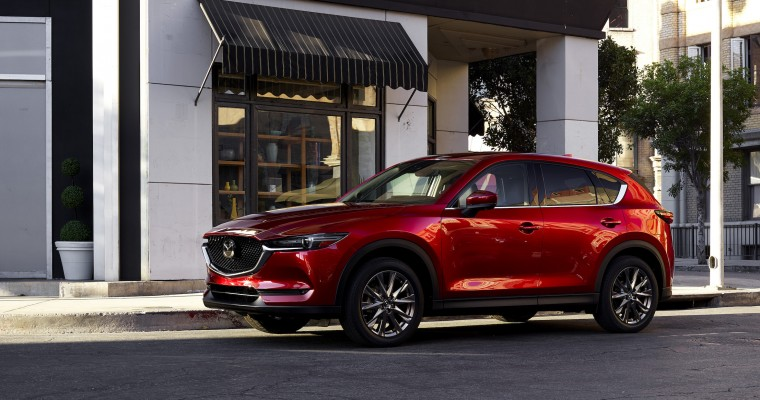 All Tested 2021 Mazda Models Earn Top Safety Pick+ Award
