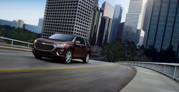 GM Stores SUVs at Michigan State During Chip Shortage