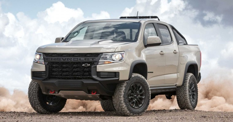 2021 Chevrolet Colorado Production is Being Extended
