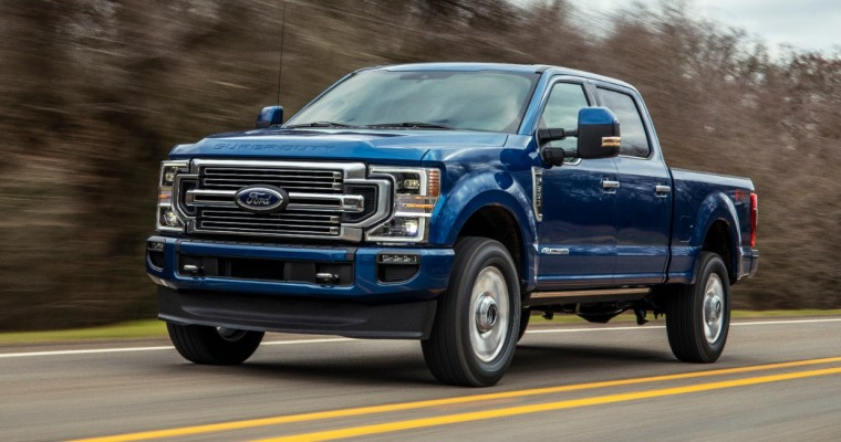 2022 Ford Super Duty Adds SYNC 4, New Colors