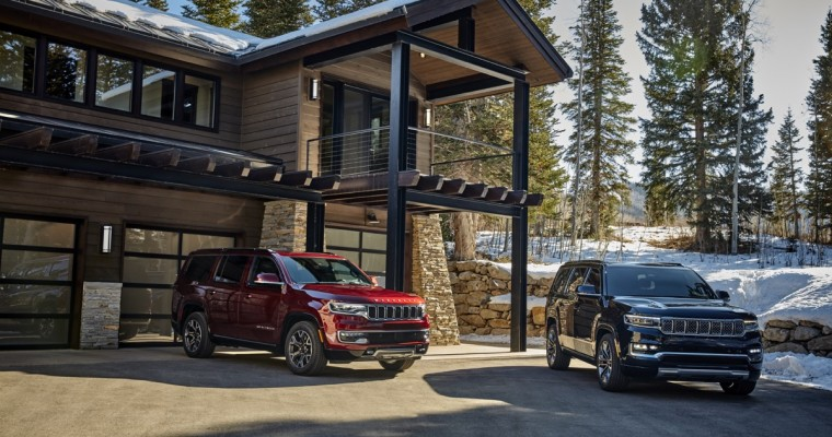 Jeep Wagoneer and Grand Wagoneer Debut With Fire TV for Auto