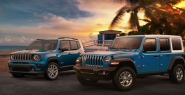 Jeep Wrangler and Renegade Release Beach-Themed Editions