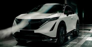 Check Out the Aerodynamics on the Nissan Ariya