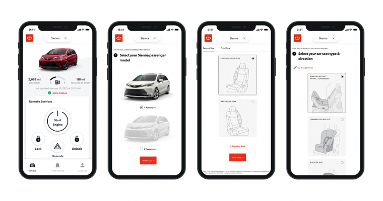 Toyota Launches Helpful New Car Seat App