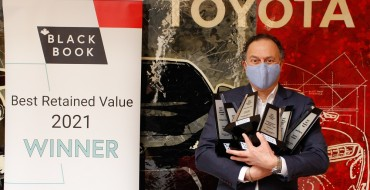 Toyota is Best Overall SUV/Truck Brand in 2021 CBB Awards