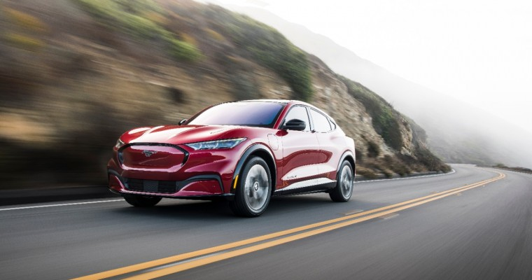 Ford Mustang Mach-E Named IIHS Top Safety Pick