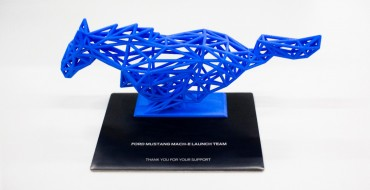 Mustang Mach-E First Edition Comes with Cool Sculpture
