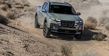 Hyundai Santa Cruz Named Best Truck of 2021 by NWAPA