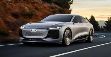 New Audi A6 E-Tron Concept Revealed