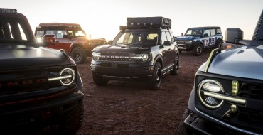 Ford Showing Off Bronco Aftermarket Parts in Moab