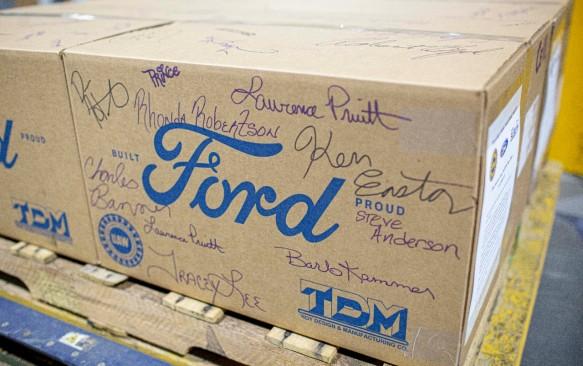 Ford Delivers Last of 120 Million Masks