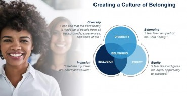 Ford Seeks to Create 'Culture of Belonging'