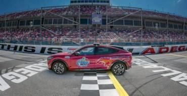 Mustang Mach-E Pace Car Debuts at Talladega